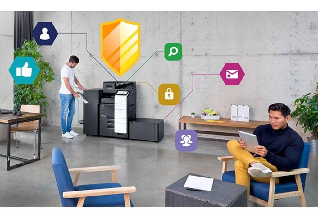 Las impresoras multifunción de Konica Minolta, contra los hackers