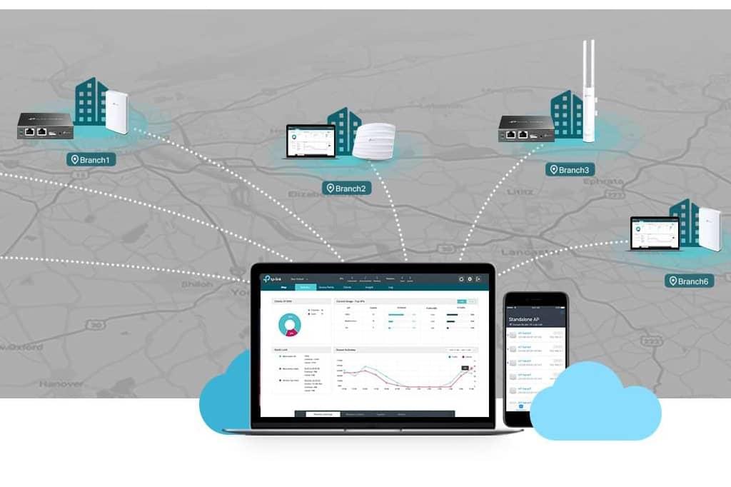 MCR incorpora las soluciones de networking Omada de TP Link