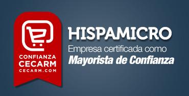 CECARM otorga el sello de �Confianza Online� al mayorista de informática Hispamicro