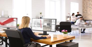 NEC apuesta por pantallas de 27 pulgadas para facilitar el uso de diferentes aplicaciones en una única pantalla
